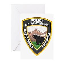 Bristo Camino Police Greeting Cards (Pk of 10)