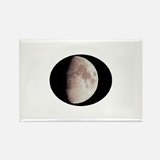 Moon Terminator Line Rectangle Magnet