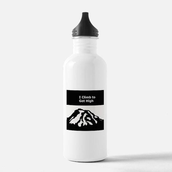 Mt. Rainier - I Climb to get High Water Bottle