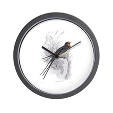 Chimney Swallow Bird Wall Clock