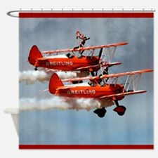 Ride Them Wings! Shower Curtain