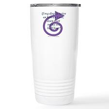 Half Fast Travel Mug