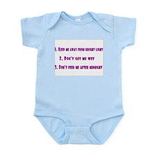 gremlin rules Infant Bodysuit