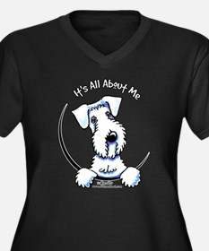 Sealyham Terrier IAAM Women's Plus Size V-Neck Dar