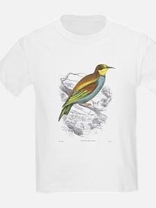 European Bee Eater Bird (Front) Kids T-Shirt