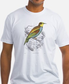 European Bee Eater Bird (Front) Shirt