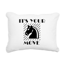 DRUMS OF CHESS™ Rectangular Canvas Pillow