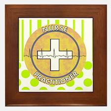 Nurse Practitioner lime and polka dots tote.JPG Fr
