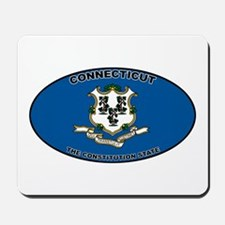 CT State Flag Mousepad