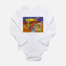 Armadillo Long Sleeve Infant Bodysuit