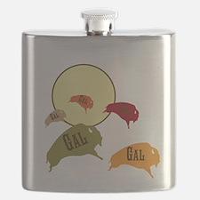 Buffalo Gal Flask