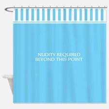 Funny Nudity required shower curtain