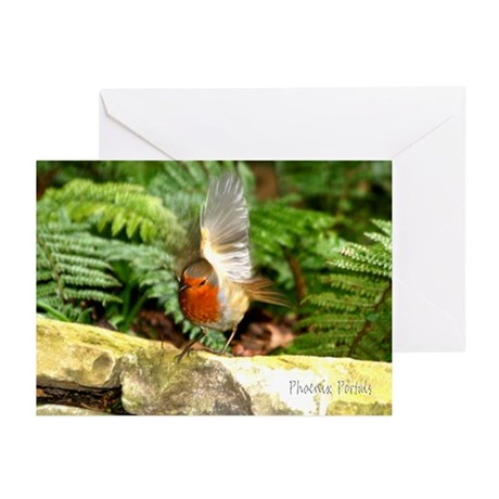 Greeting Cards (Pk of 10) - Bird on Wall