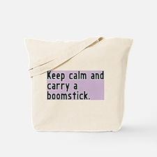Shot = boomstick Tote Bag