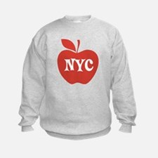 New York CIty Big Red Apple Sweatshirt