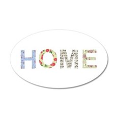 Vintage Floral Home Wall Decal