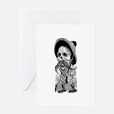 Zapatista Calavera Greeting Cards (Pk of 10)