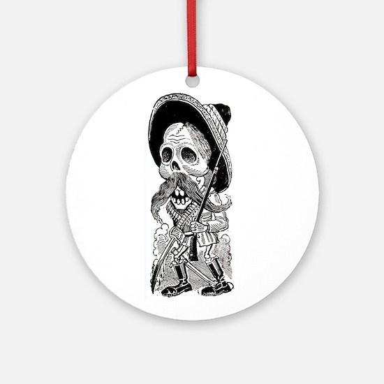 Zapatista Calavera Ornament (Round)