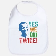 Yes We Did Twice! Bib
