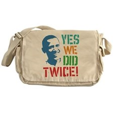 Yes We Did Twice! Messenger Bag