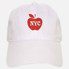 New York CIty Big Red Apple Baseball Baseball Cap