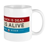 Bin Laden Dead, Auto Industry Alive Mug