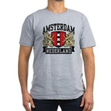 Amsterdam Fitted T-shirts (Dark)