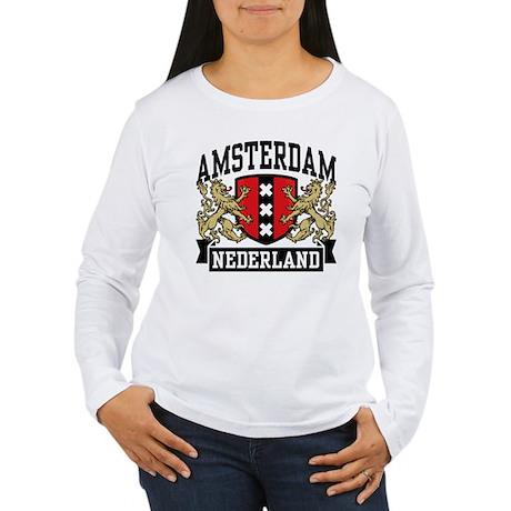 Amsterdam Nederland Women's Long Sleeve T-Shirt