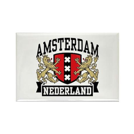 Amsterdam Nederland Rectangle Magnet