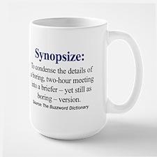 Left-handed Synopsize Mug