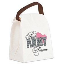 Proud Army Fiancee.png Canvas Lunch Bag