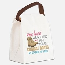 boots1.png Canvas Lunch Bag
