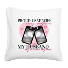 2-2.png Square Canvas Pillow