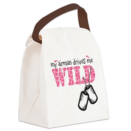 wild2.png Canvas Lunch Bag