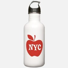 New York CIty Big Red Apple Water Bottle