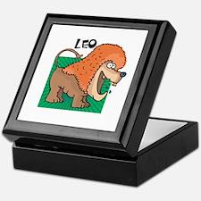Silly Leo the Lion Keepsake Box