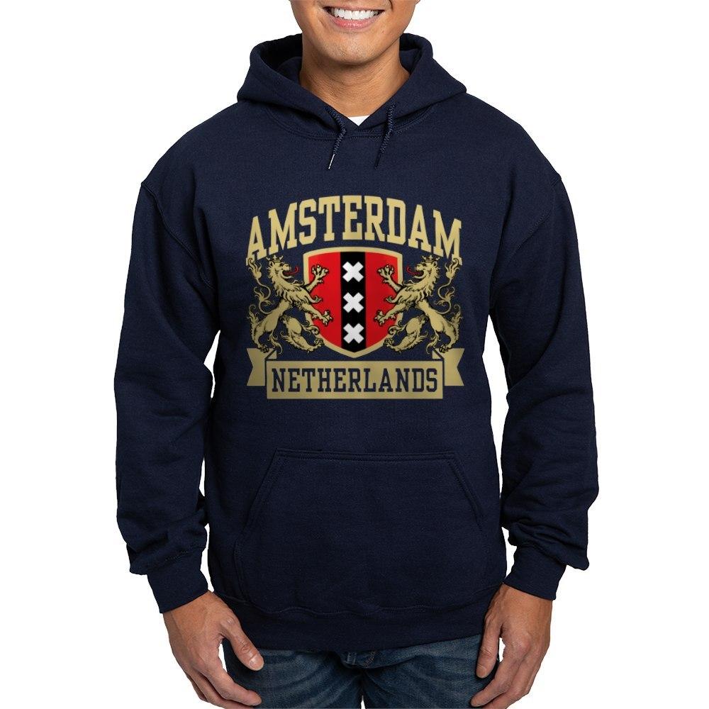 CafePress Pullover Hoodie Amsterdam Netherlands