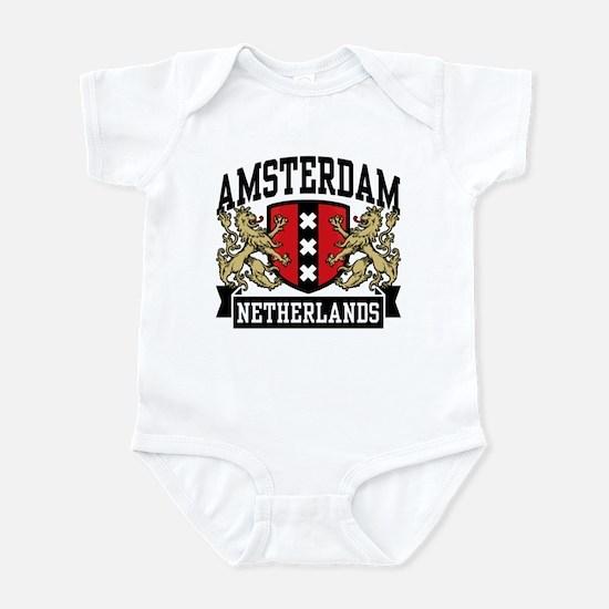 Amsterdam Netherlands Infant Bodysuit
