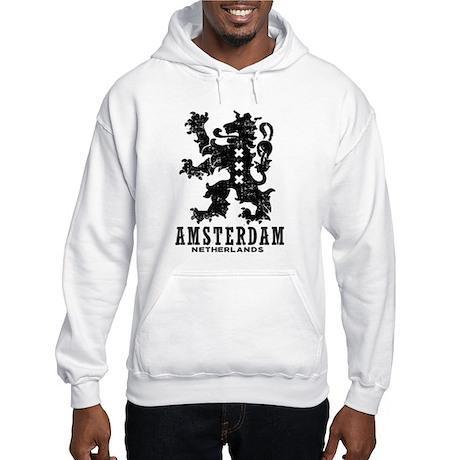 Amsterdam Netherlands Hooded Sweatshirt