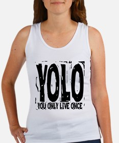 YOLO: You Only Live Once Women's Tank Top