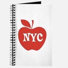 New York CIty Big Red Apple Journal