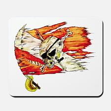 Scuba Diving Flag Skull Caribbean Mousepad
