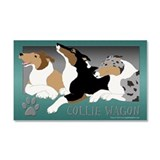"""Smooth collie 12"""" x 20"""""""