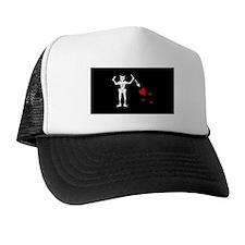 Blackbeard Flag Trucker Hat
