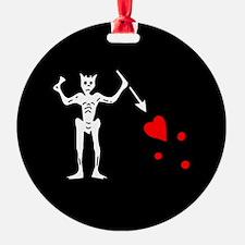 Blackbeard Flag Ornament