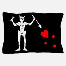 Blackbeard Flag Pillow Case