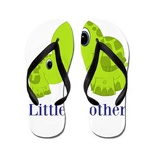 Little Brother BabyTurtle Flip Flops