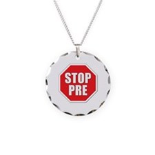Stop Pre Prefontaine Necklace
