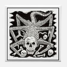 Calavera Huerista Tile Coaster