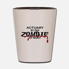 Actuary Zombie Shot Glass